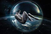 Weltall Amazonen Invasion - Composing mit Melanie